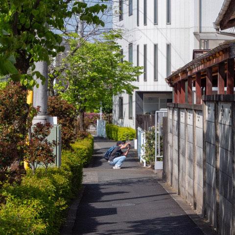 スタンプラリー2021(8) 福地蔵尊