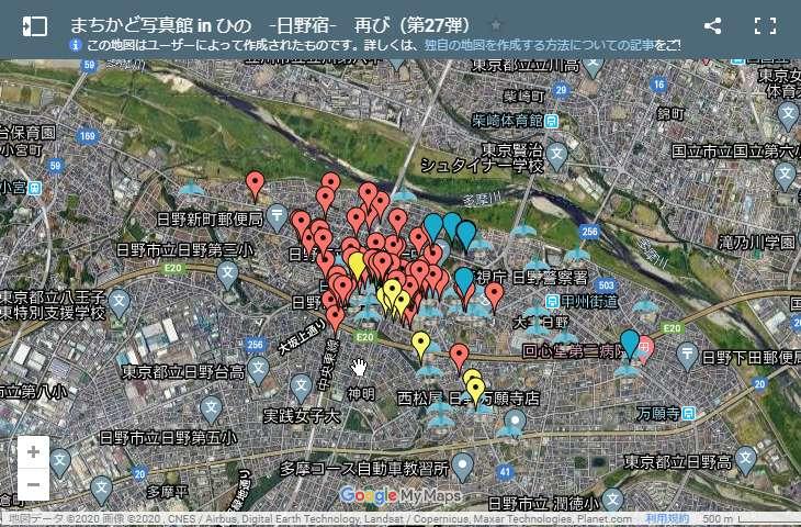 まちかど写真館 in ひの - Map