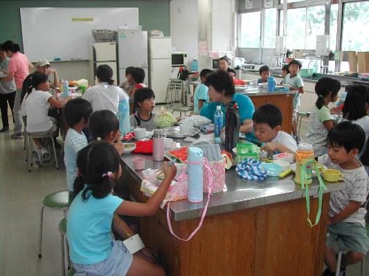 学童クラブのこどもたちも参加してくれました。