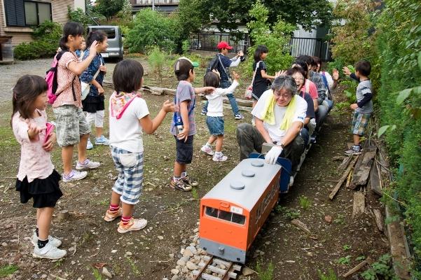 子ども日野宿発見隊-滝瀬製作所 2010-10-02