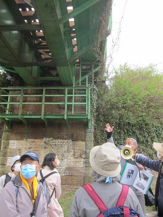 多摩川鉄橋築堤