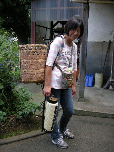 子ども日野宿発見隊-かご 20101002