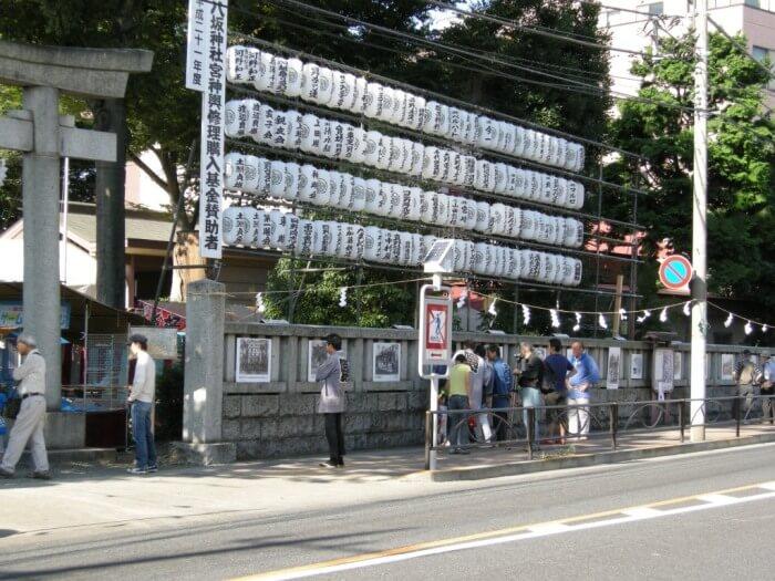 八坂神社玉垣